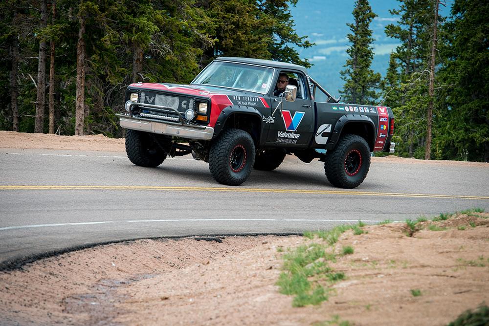 Two Cummins Powered Dodge Trucks Built For Baja Engine