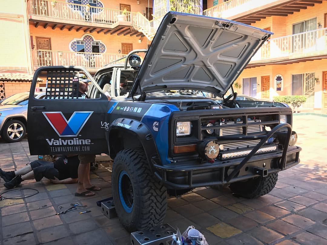 Two Cummins Powered Dodge Trucks Built for Baja