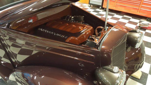 1952 Mercedes 170 S with a 6.2 L LS3 V8