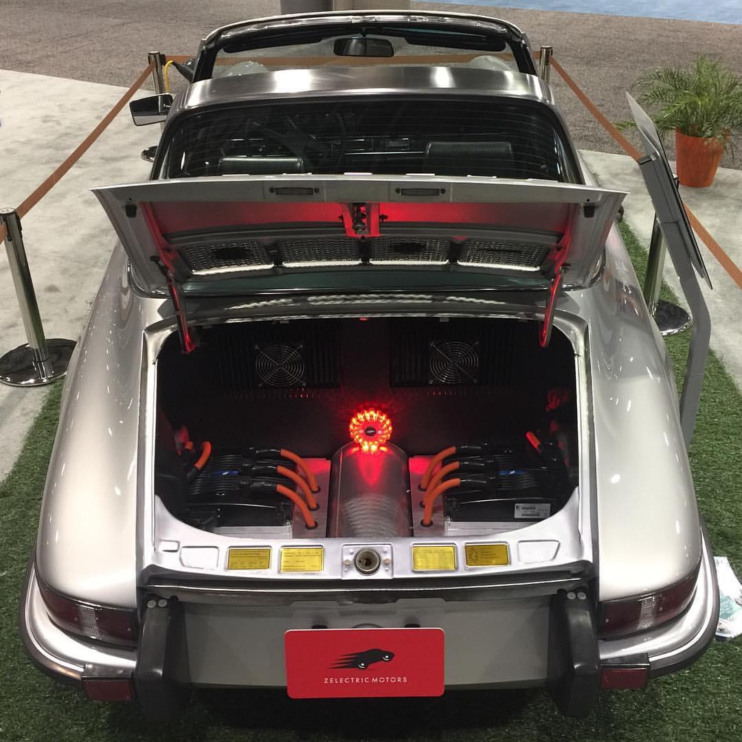 Electric Porsche 911 Engine Swap Depot