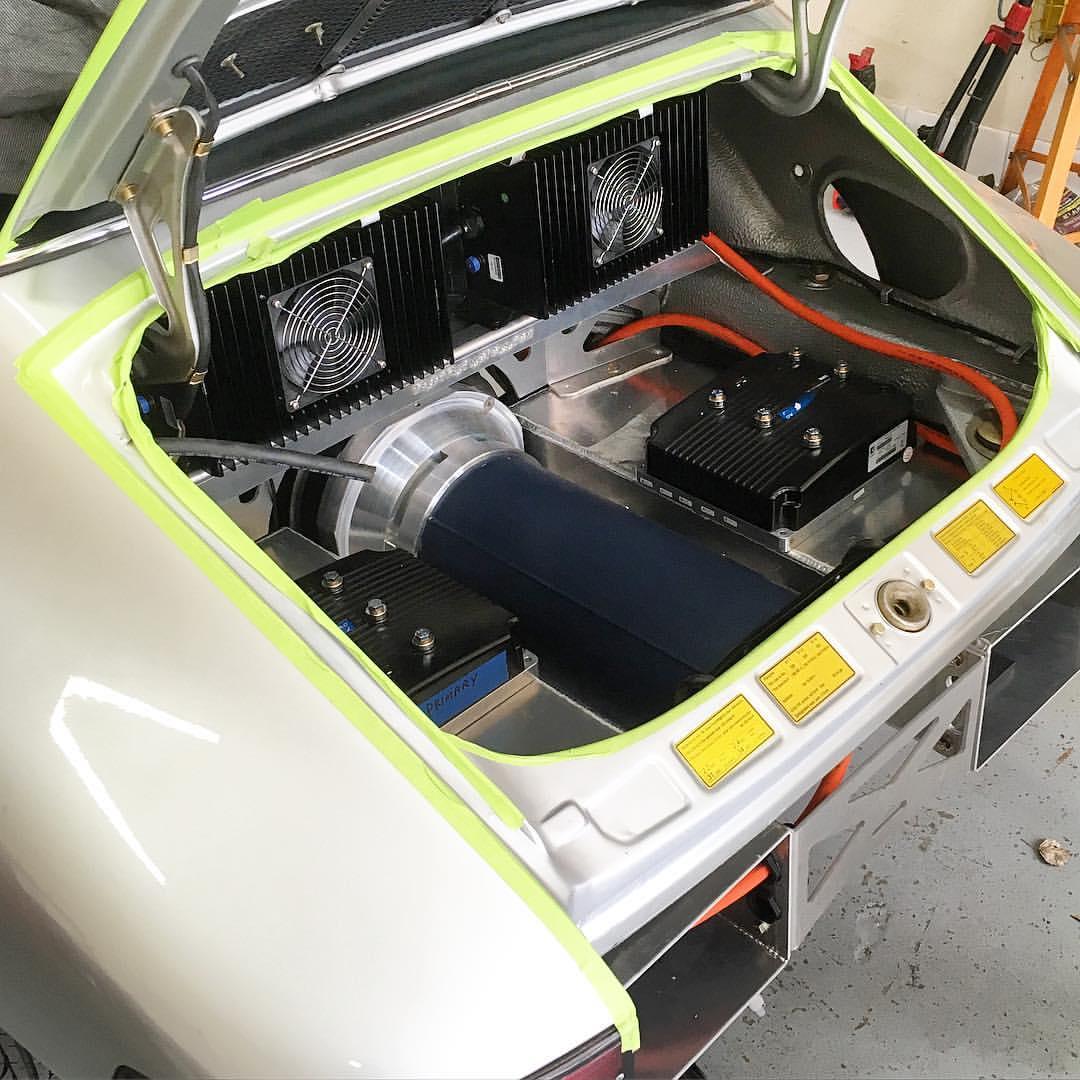 Electric Porsche 911 Engine Swap Depot Wiring Harness 1973 Ads By Amazon