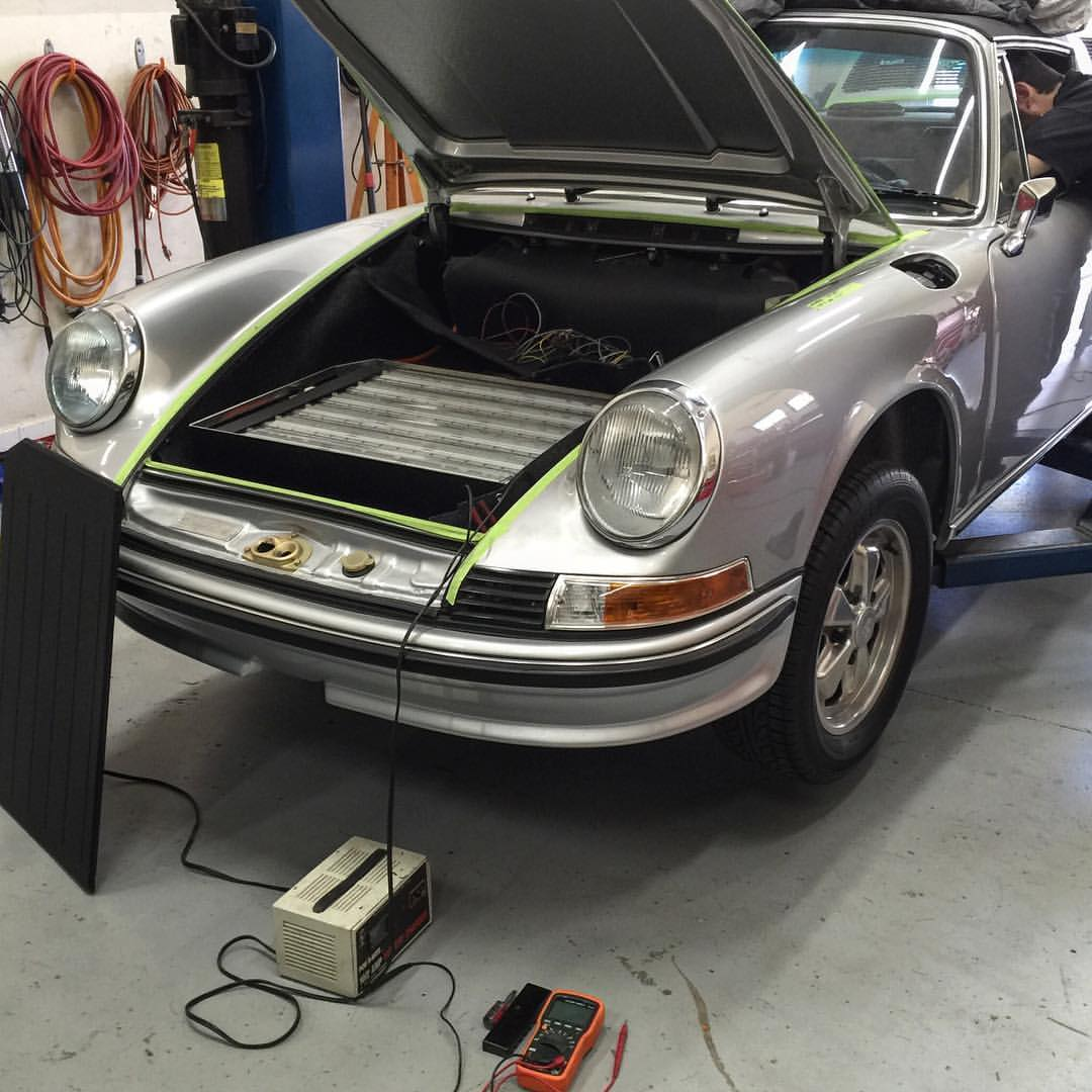 Electric Porsche 911 Engine Swap Depot