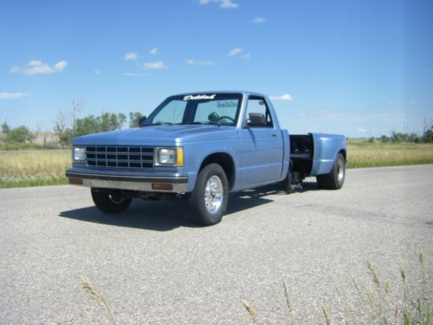 1982 Chevy S-10 with a mid-engine supercharged 355 ci V8