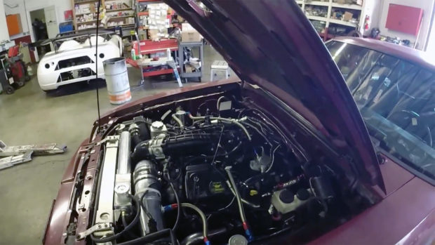 Twin Disc Clutch >> Mustang SVO with a Ecoboost V6 – Engine Swap Depot