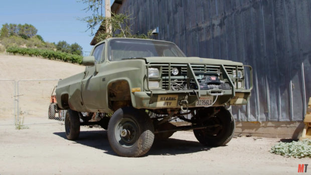1986 Chevy Army Truck with a Vortec 8100 V8