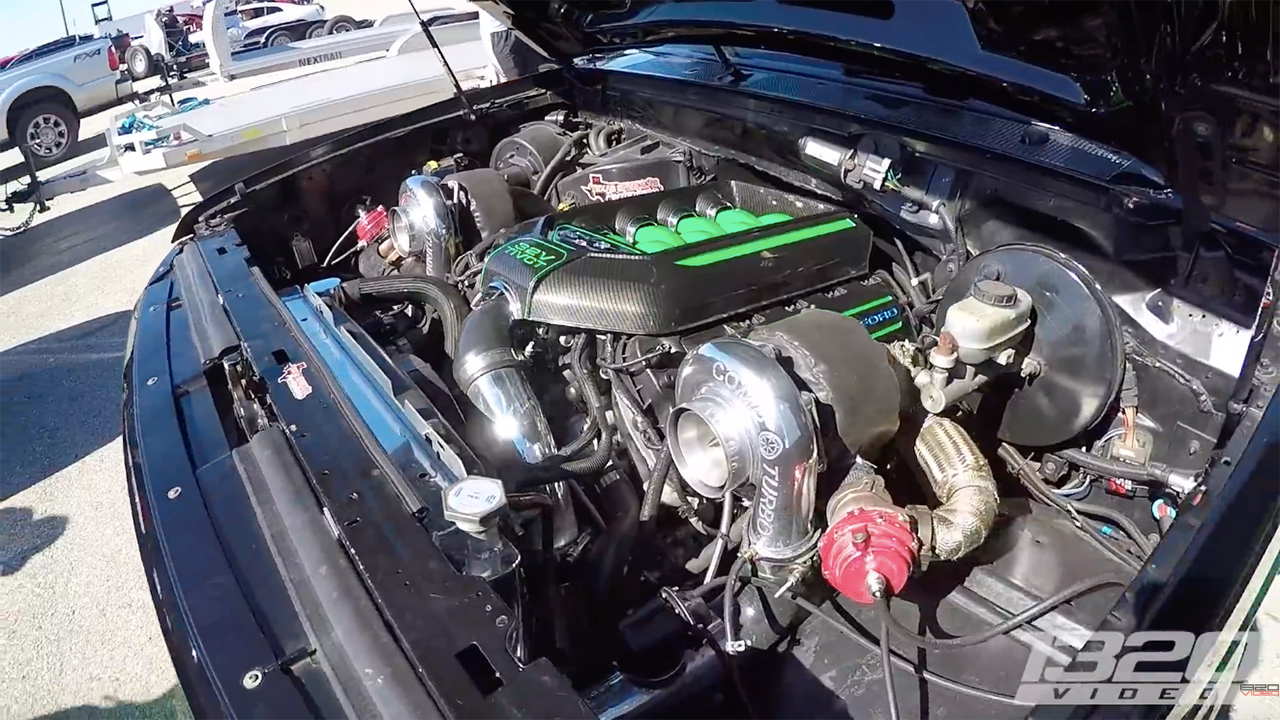 ford lightning with a twin turbo coyote v8 engine swap depot