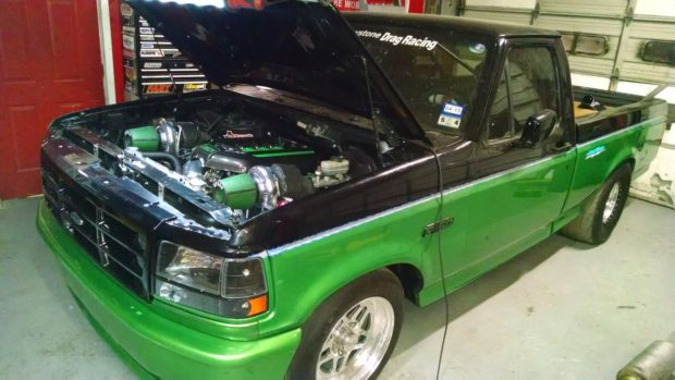 1995 Ford Lightning with a Twin-turbo Coyote V8