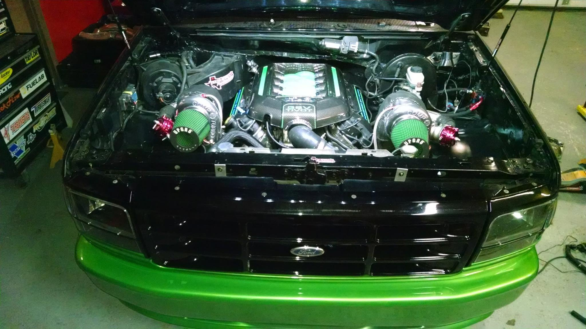 Ford Lightning With A Twin Turbo Coyote V