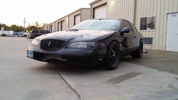 1998 Lincoln Mark VIII with a Turbo 5.0 L Coyote V8