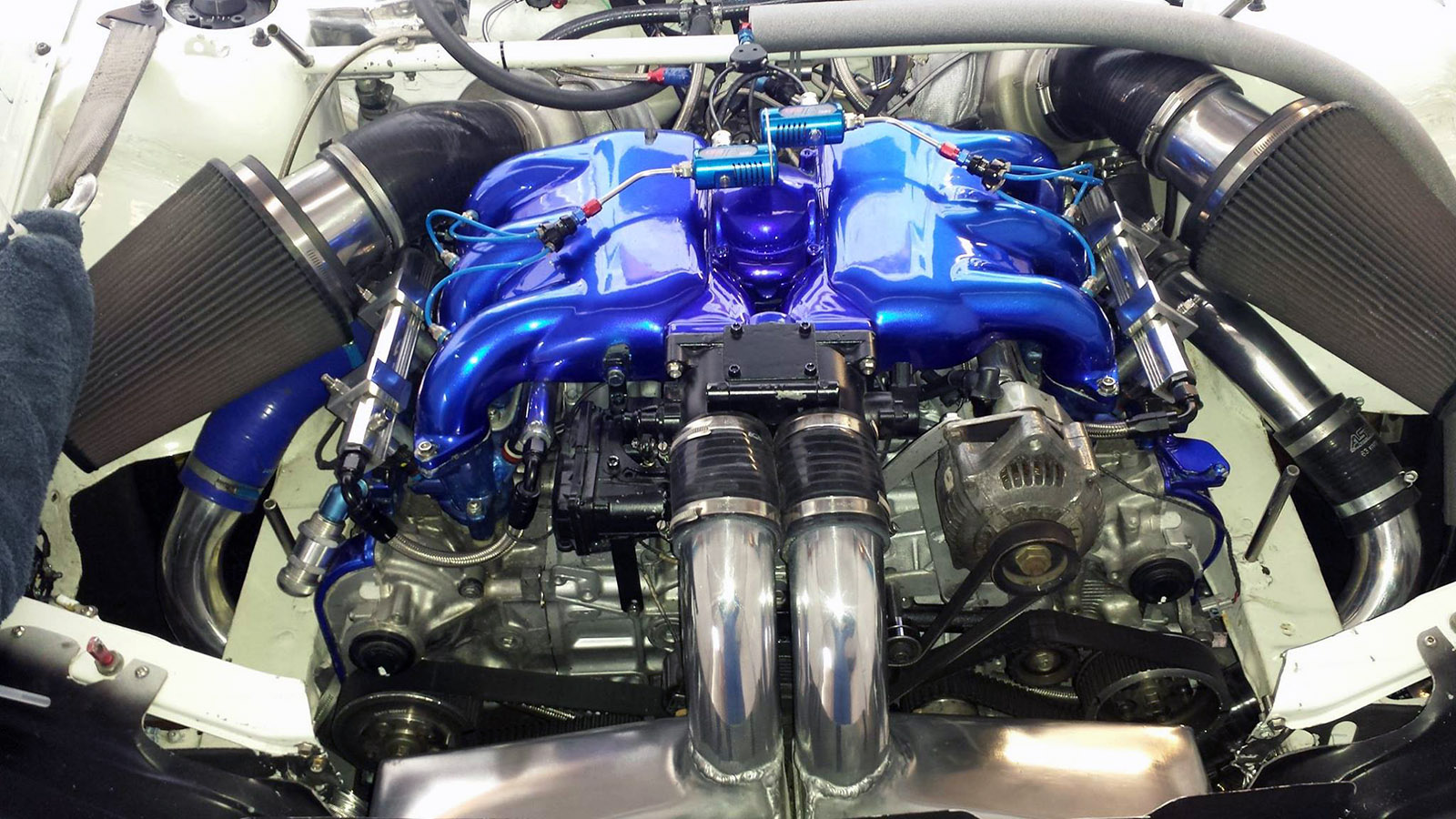 Afp Subaru Wrx With A Twin Turbo Flat Six Engine Swap Depot