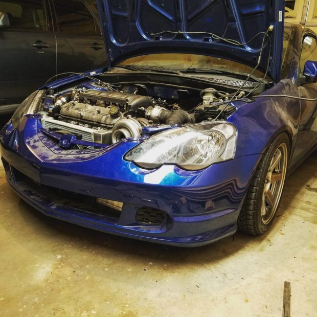 Acura RSX with a turbocharged LS4 V8
