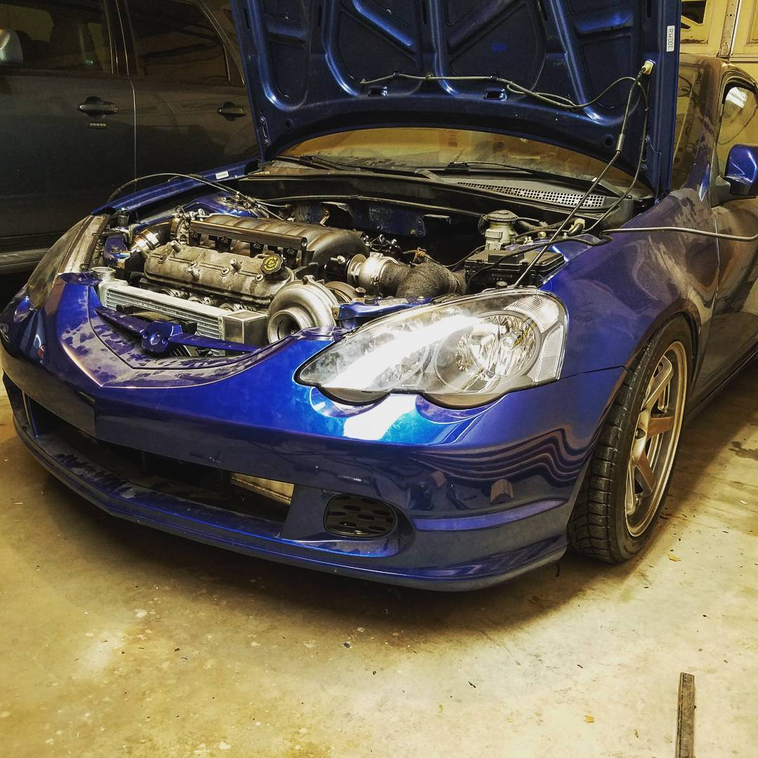 Acura RSX with a Turbo LS4 V8 – Engine Swap Depot