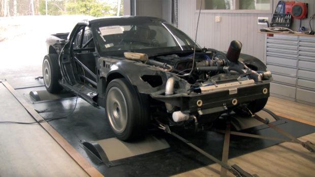 C6 Corvette with a Opel C20LET inline-four