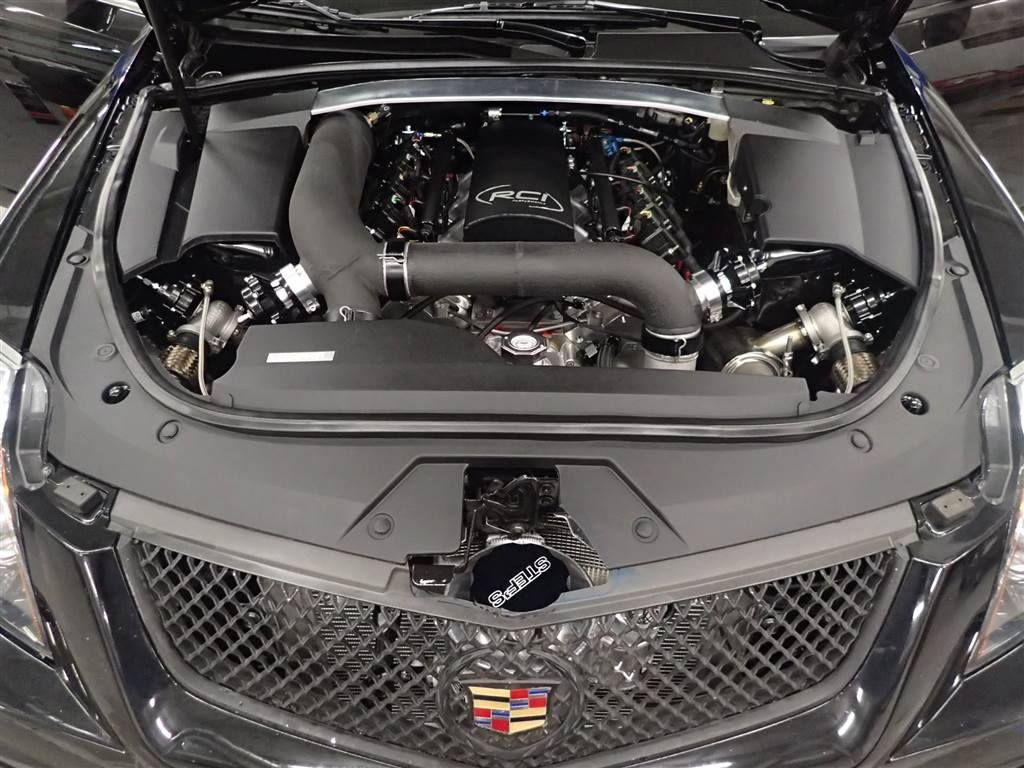2011 Cadillac CTS-V with a Twin-Turbo 7.0 L LSx – Engine Swap Depot