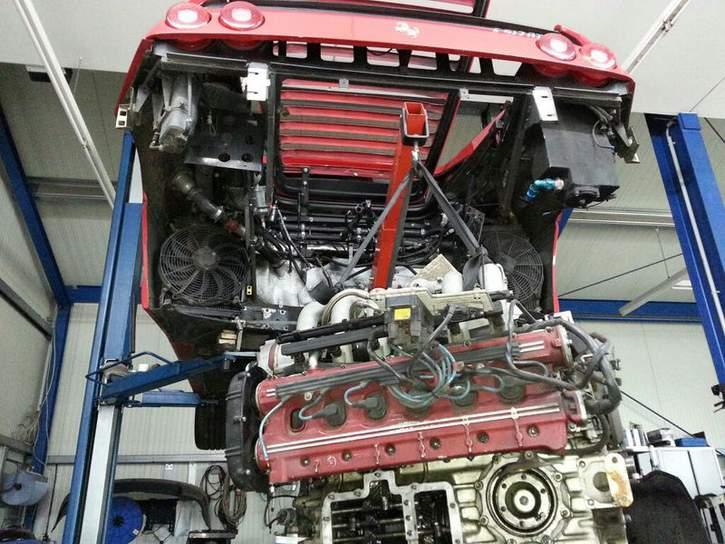Ferrari F355 With A Flat 12 Engine Swap Depot