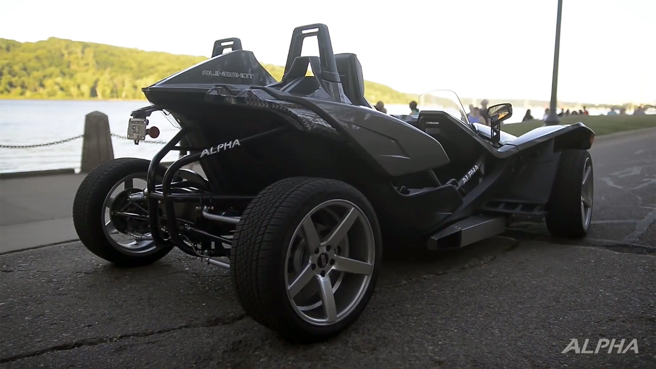 Four Wheelers With Rims : Four wheeled slingshot with a ls engine swap depot