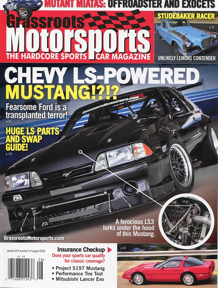 Grassroots Motorsports cover 8-16