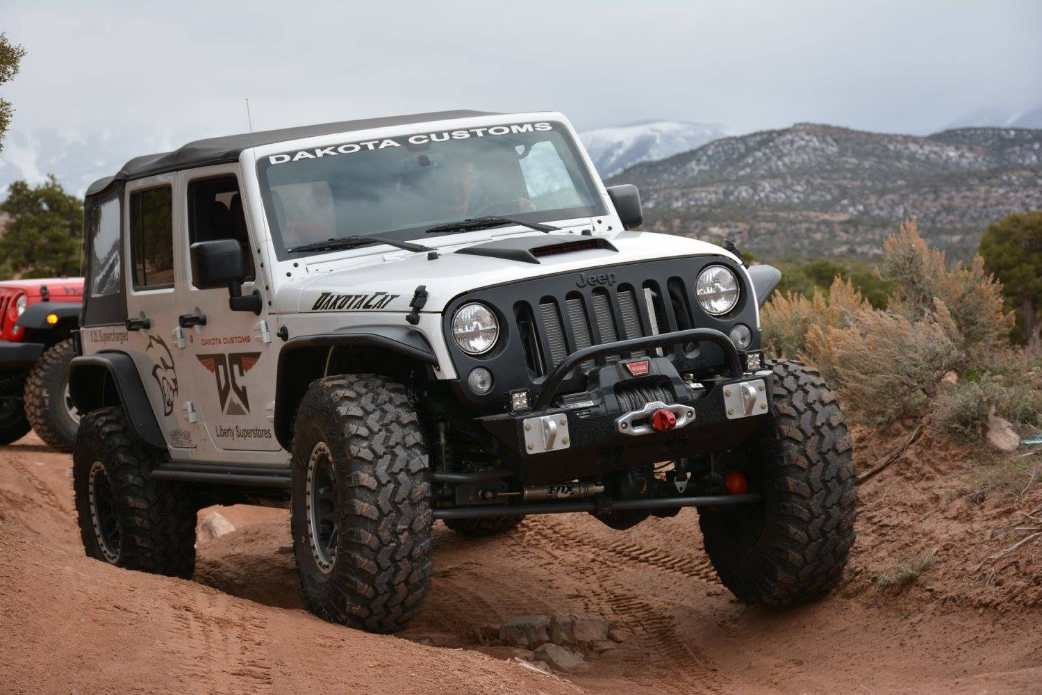 Jeep Wrangler With A Hellcat V8 Engine Swap Depot