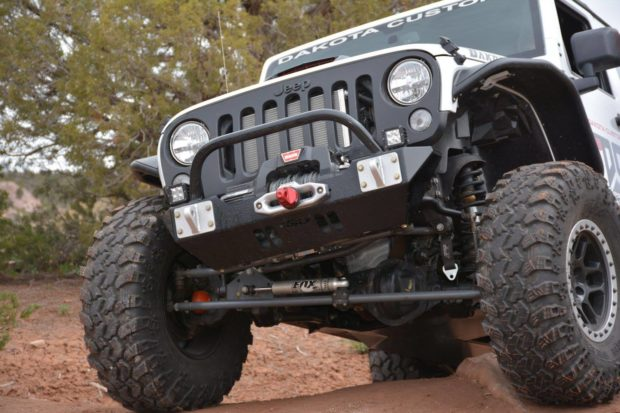 Jeep Wrangler with a Hellcat V8