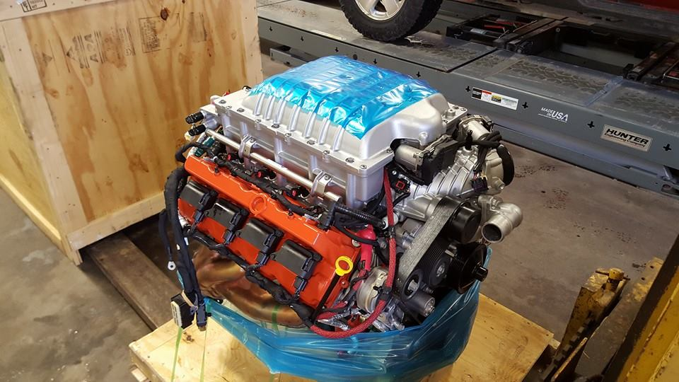 Jeep Wrangler with a Hellcat V8 – Engine Swap Depot