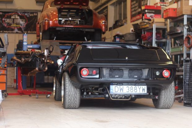 Lotus Europa with an Audi 1.8T 20v inline-four