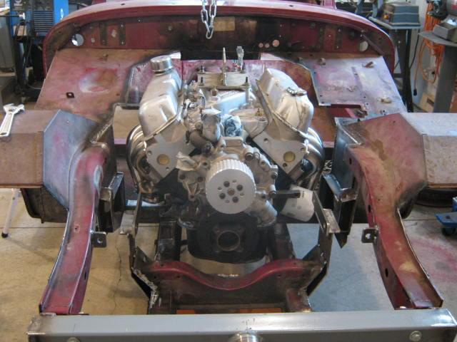 Mg midget eng swap