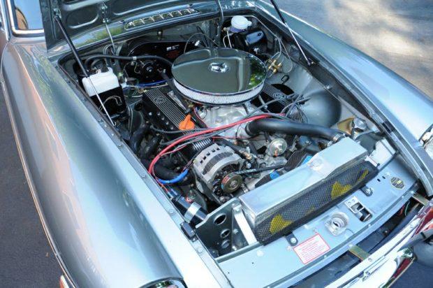 Mgb Gt With A 4 2 L Rover V8  U2013 Engine Swap Depot