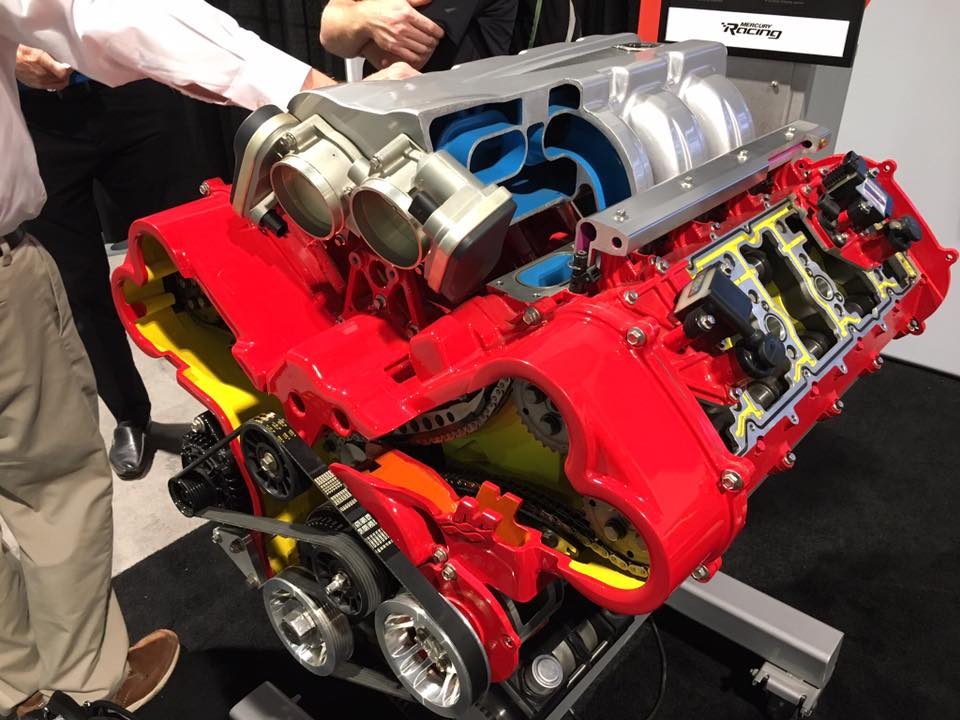 Mercury Racing DOHC LSx V8