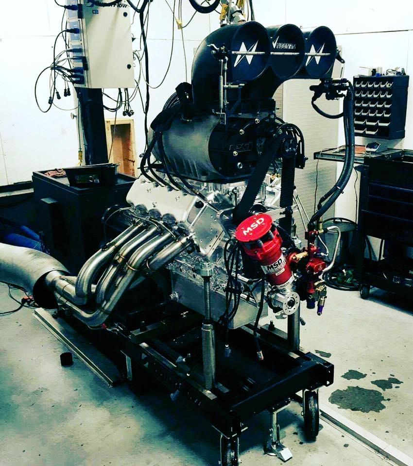 Noonan LS-EDGE full billet supercharged LSx V8
