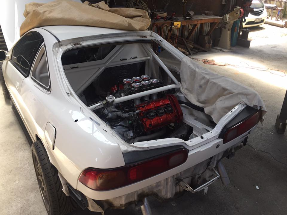 rwd honda integra with a mid engine nsx v6 engine swap depot rh engineswapdepot com Harness Car Wire Stereo 8612035620 95 Honda Civic Wiring Harness