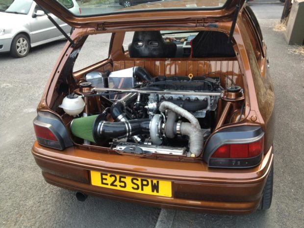 Renault Clio with a Turbo VR6