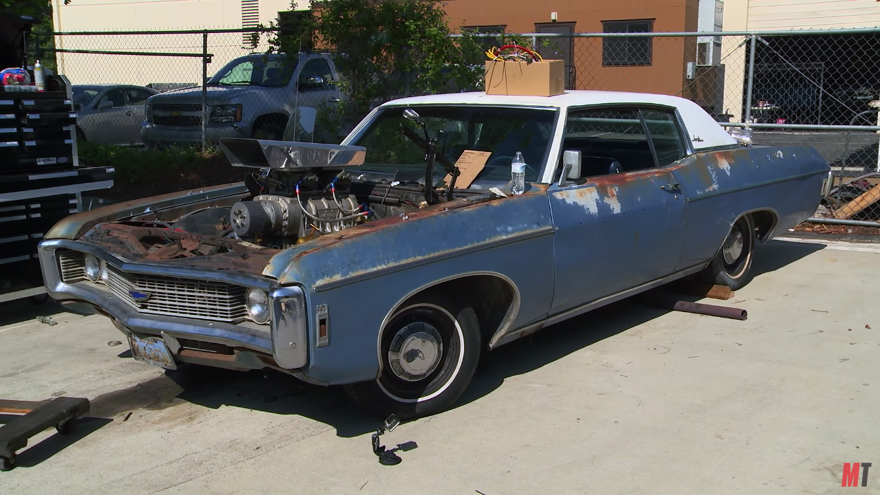 roadkill builds a 1969 impala with a supercharged big block v8 for rh engineswapdepot com 1969 impala wiring harness 1967 impala wiring harness ebay