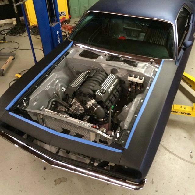 kit car wiring harness drift barracuda gets a hemi v8     engine swap depot  drift barracuda gets a hemi v8     engine swap depot