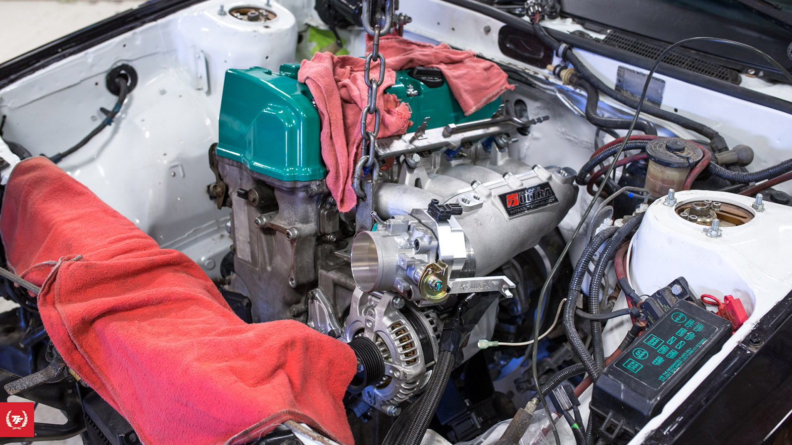 Swapping A K24 Into Ae86 Part 1 Engine Swap Depot Vtec K Series Wiring Harness For Mini Conversion Which Will Allow The Hondata Kpro Talk To Through Factory They Also Share Oil Pan And Crossmember Needed Some