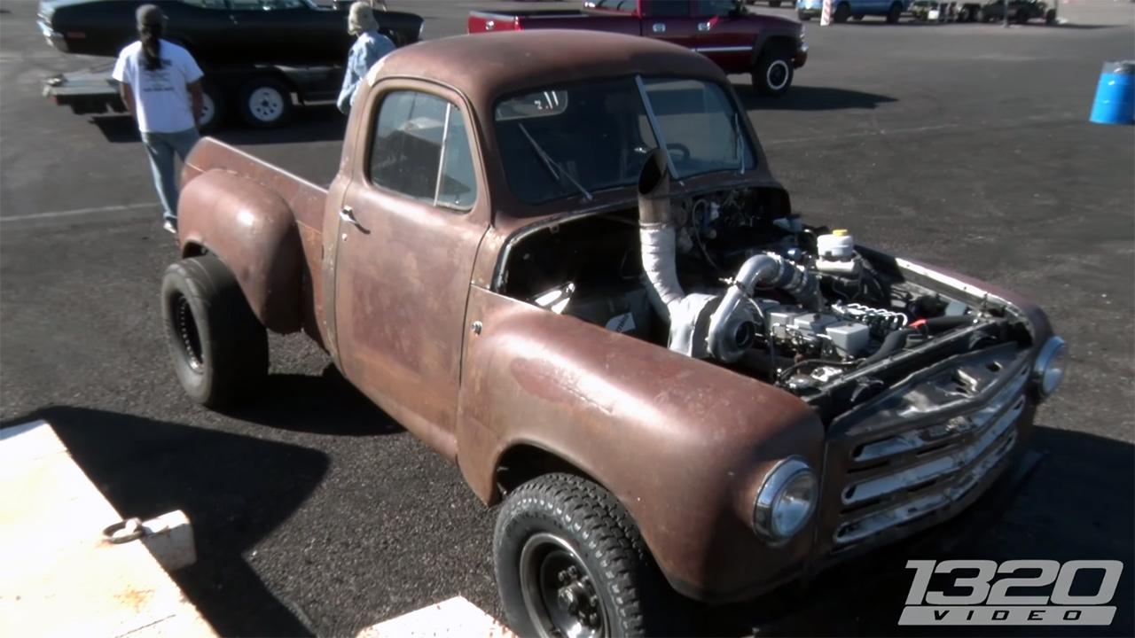 Studebaker Truck With A Cummins V Diesel on 6 5 Turbo Diesel Problems