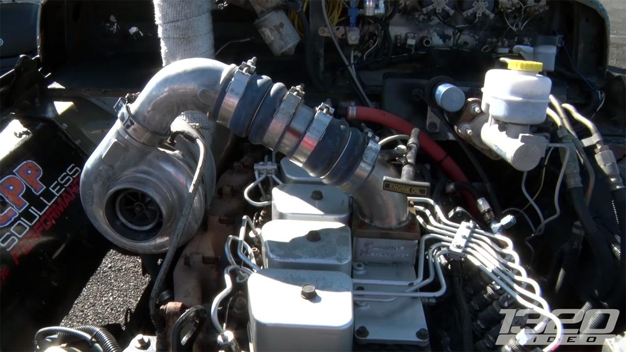 Studebaker Truck with a Turbo Diesel – Engine Swap Depot
