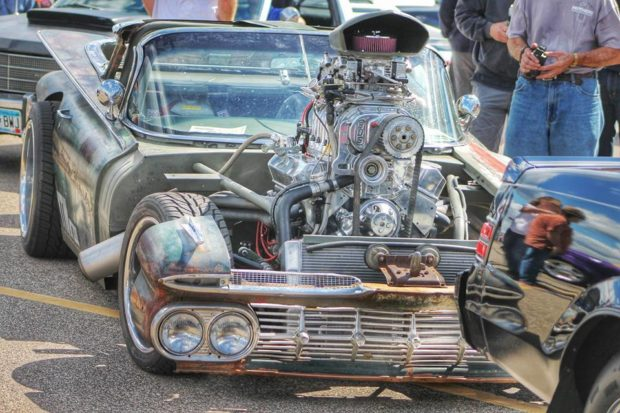 1959 El Camino Rat Rod with a supercharged 400 ci V8