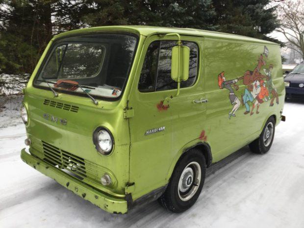 1968 Chevy Van with a Cummins 4BT