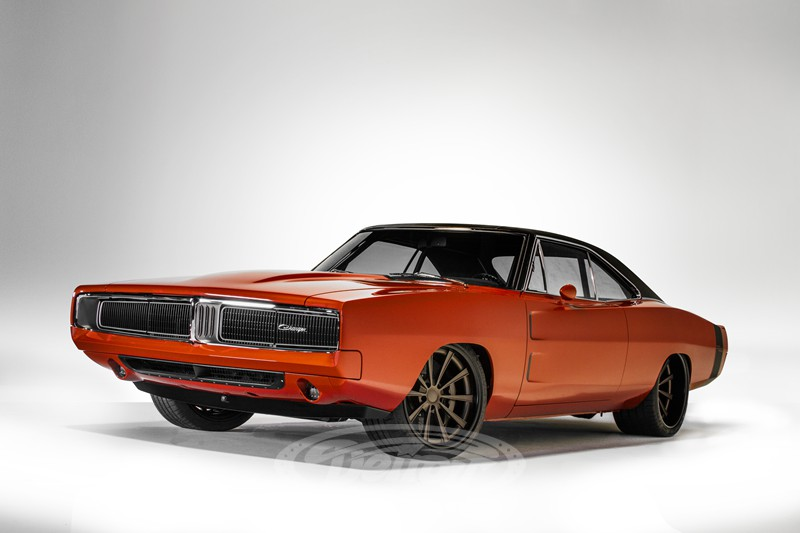 1969 Dodge Charger With A Supercharged Hemi V8 Engine Swap Depot
