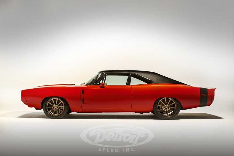 1969 Dodge Charger With A Supercharged HEMI V8 Engine