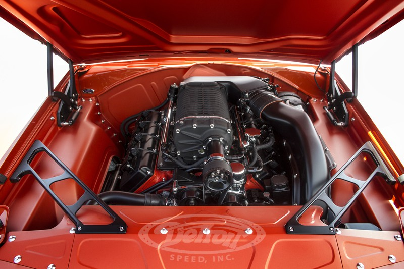 1969 Dodge Charger with a Supercharged HEMI V8 – Engine ...