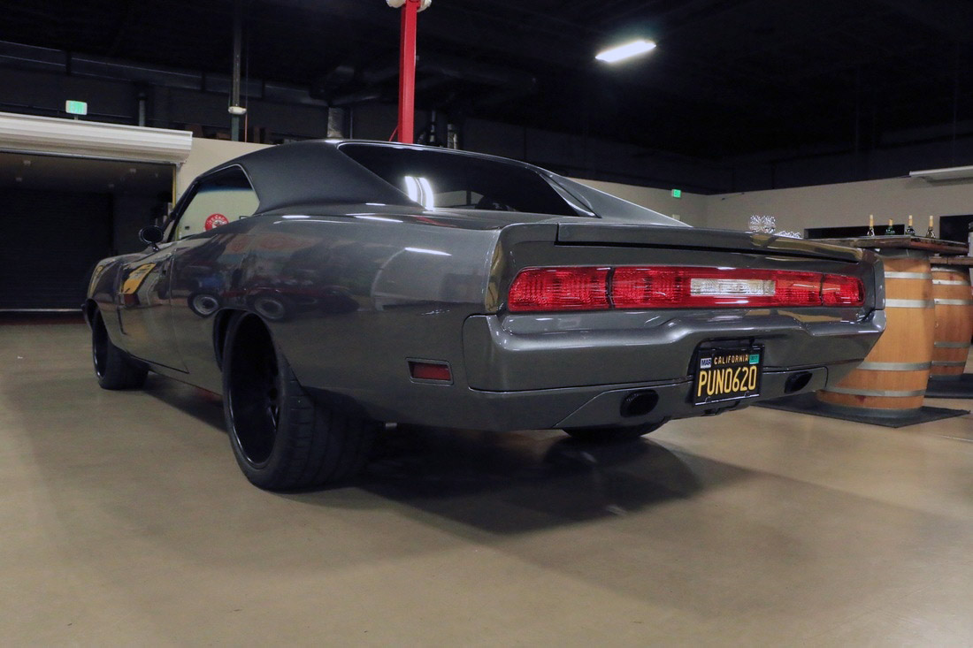 for sale pro touring 1970 charger with a 600 hp hemi v8 engine swap depot. Black Bedroom Furniture Sets. Home Design Ideas
