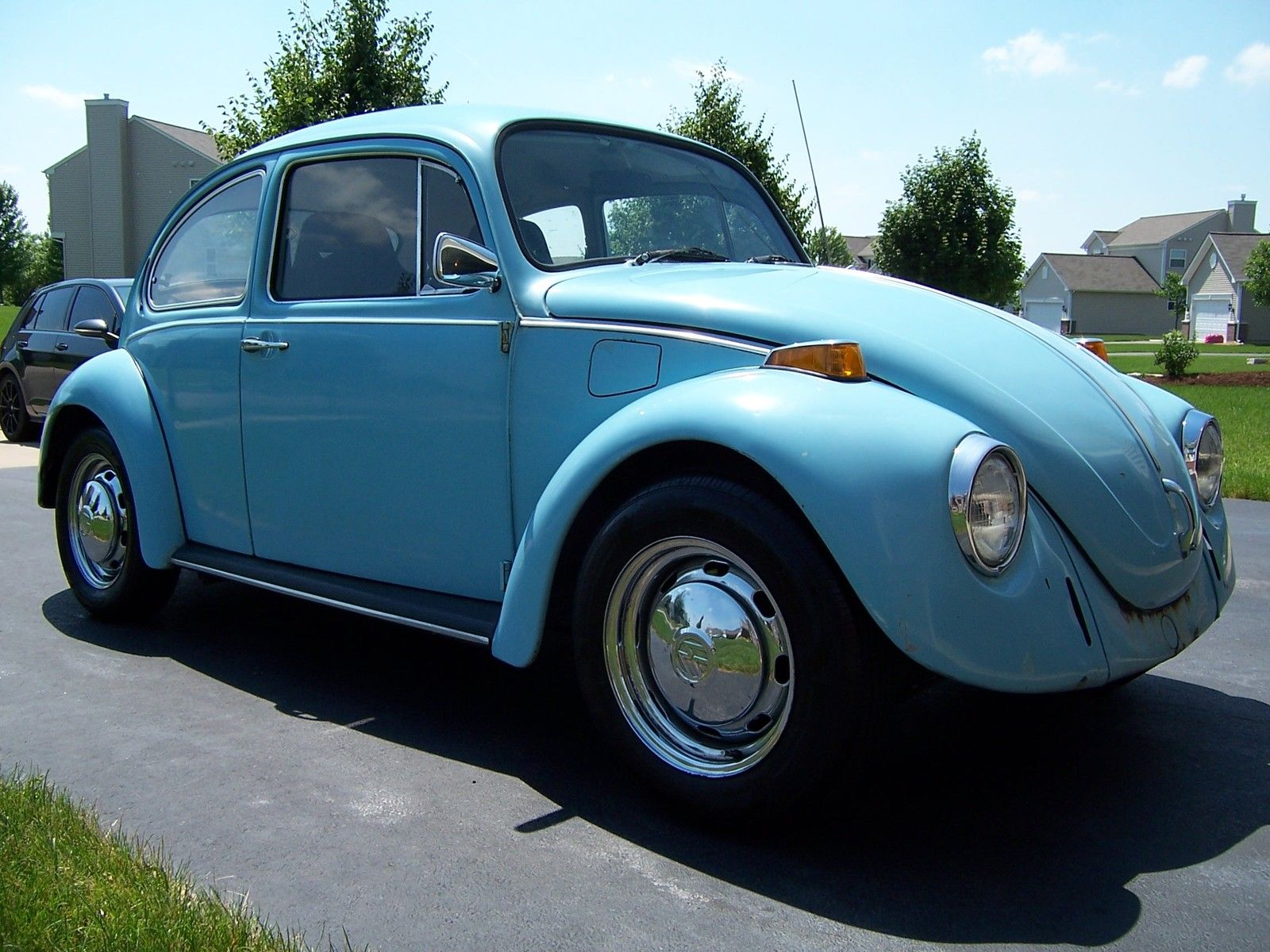 1971 Beetle With A Subaru Ej20 Engine Swap Depot 69 Wiring Harness Diagrams Although This Volkswagen Is Still Powered By Flat Four The Engines Displacement And Output Has Increased Instead Of Factory German