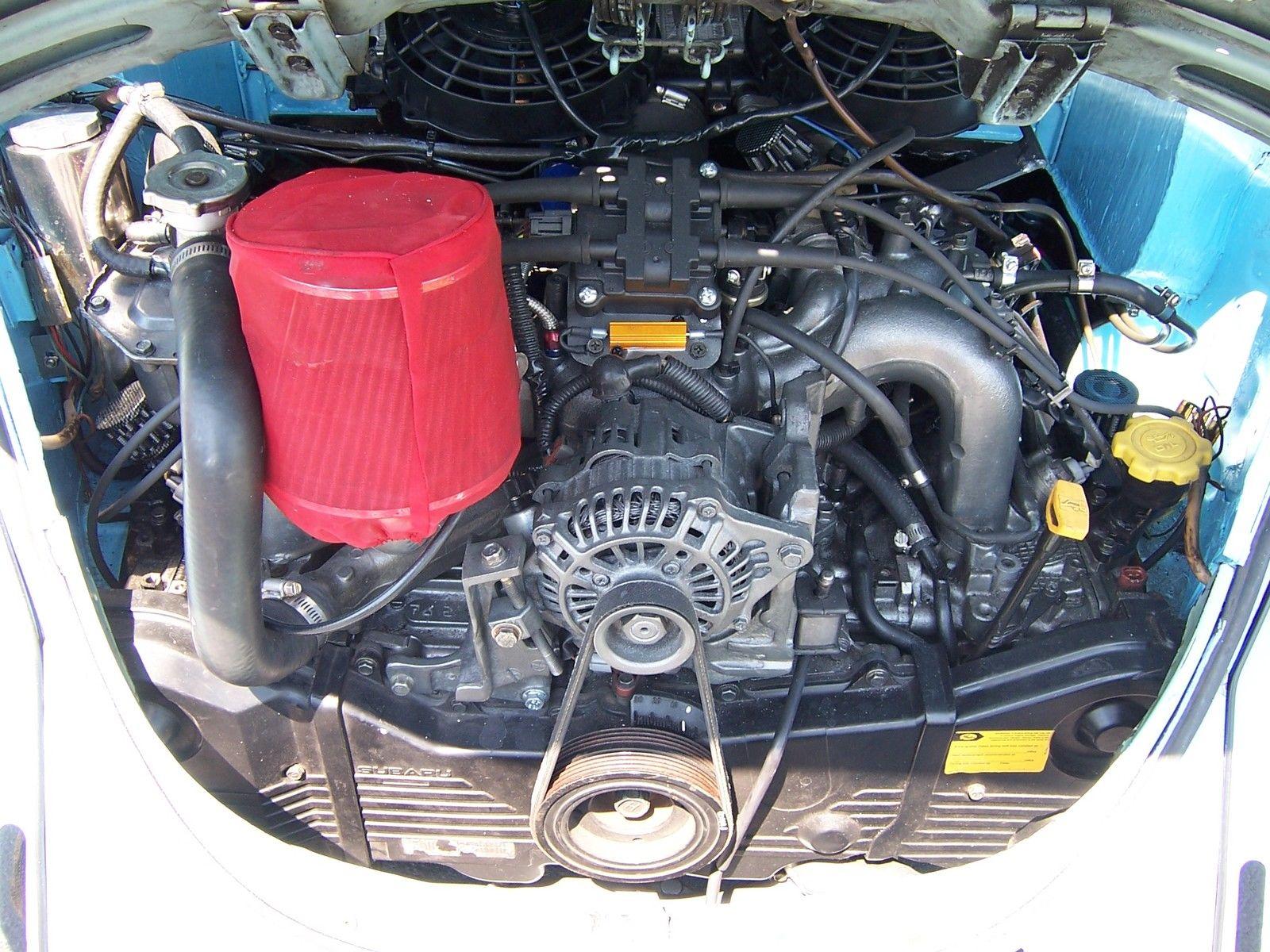 Vw Beetle With A Subaru Ej on Vw Beetle Transmission Swap