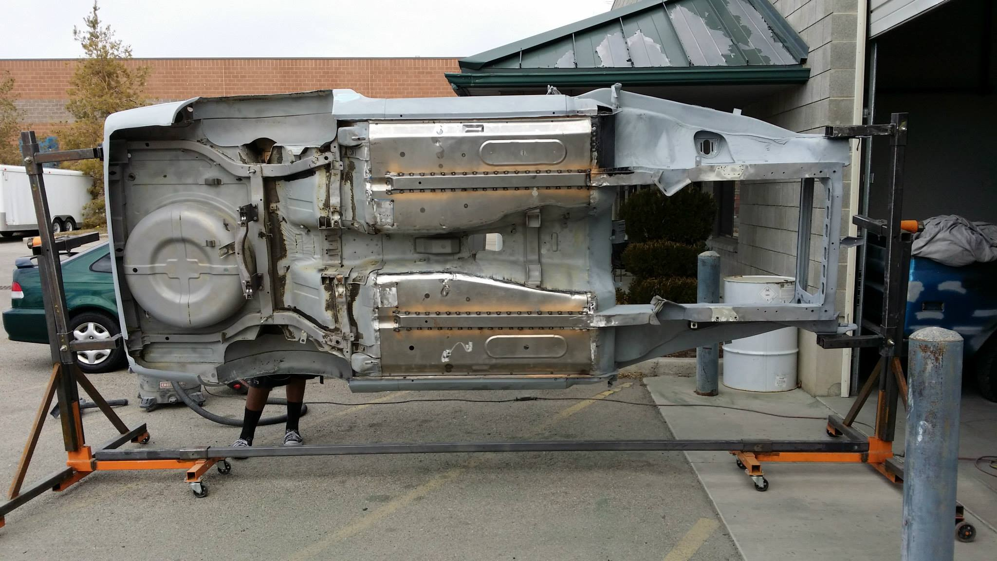 Datsun 240z With A 3 2 L Inline Six Engine Swap Depot