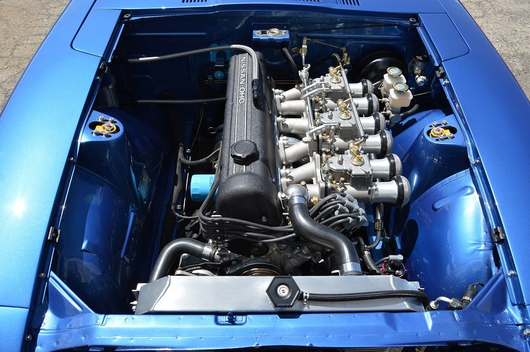 Datsun Z With A Stroked L L Series Inline Six on 240z Rear End