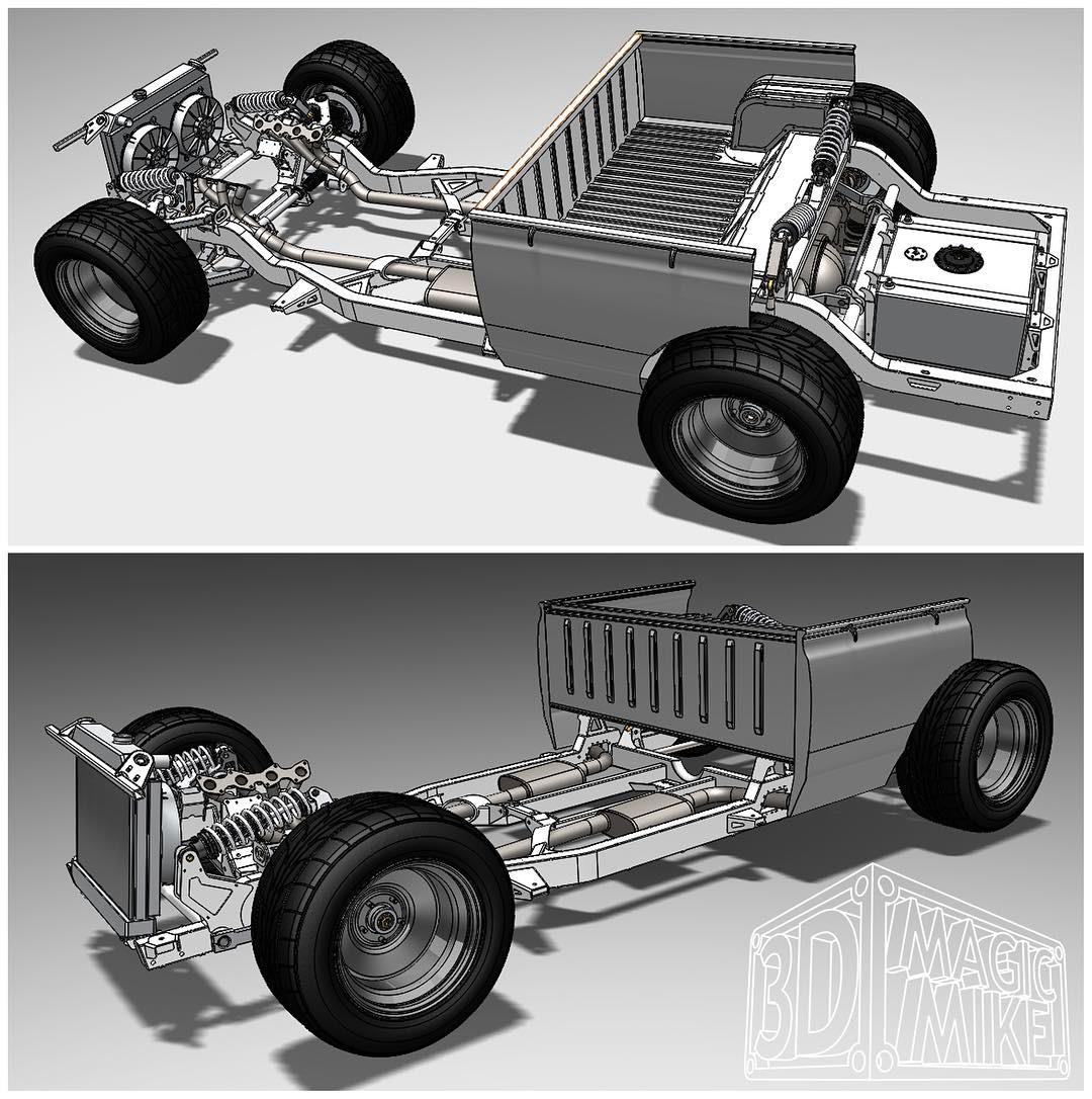 Datsun 620 With A Twin Turbo 1uz Engine Swap Depot