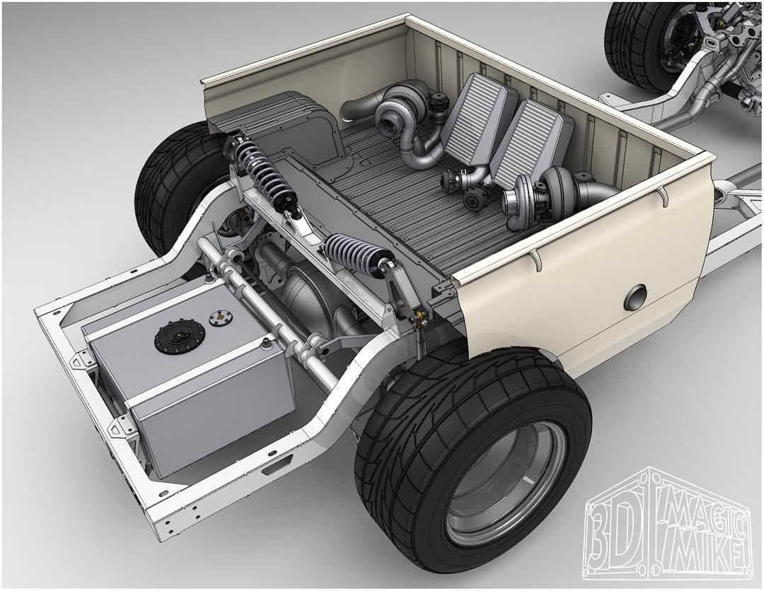 Datsun With A Twin Turbo Uz