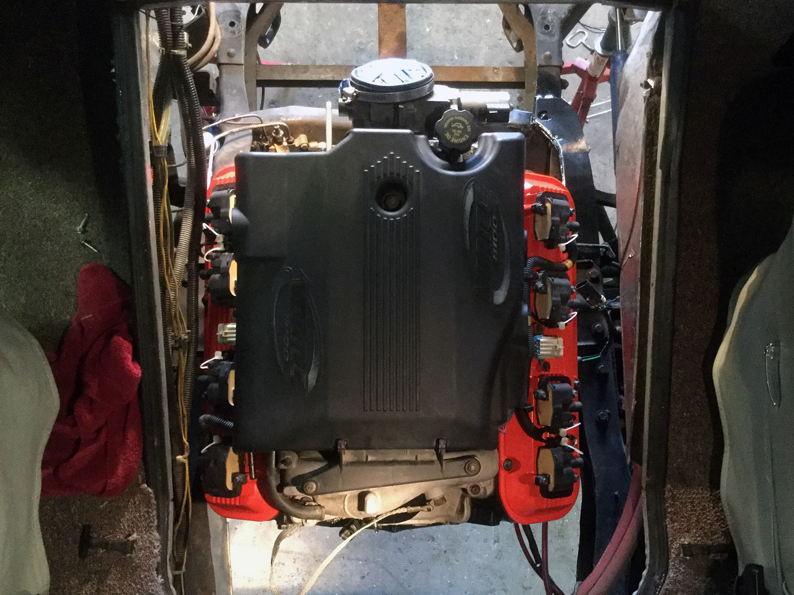 Airstream 310 With A Vortec 8100  U2013 Engine Swap Depot