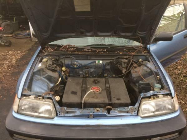 1991 Honda Civic Hatchback With A Mitsubishi 3000GT V6
